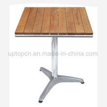 Круглый Патио стол с массивной столешницей из фанеры (СП-AT343)