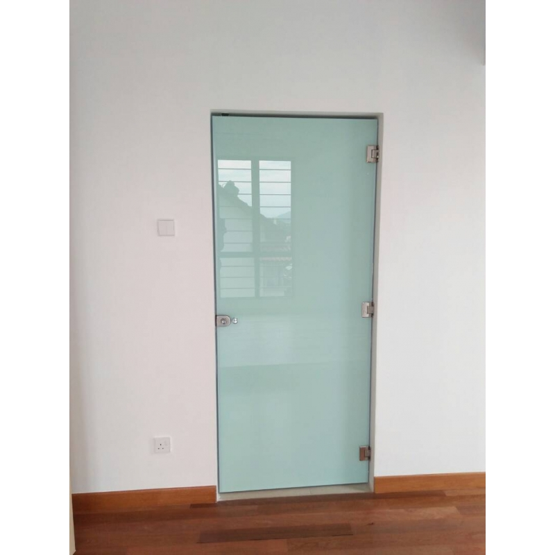 12mm Tempered Glass Door