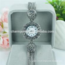 2016 vintage senhoras moda bela relógio de pulso de quartzo para as mulheres B018