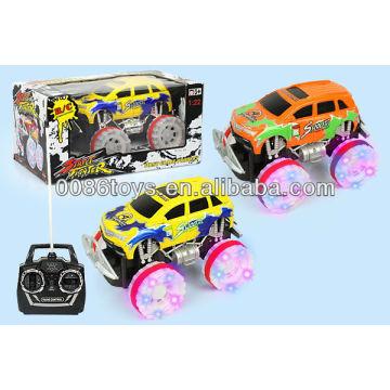 HW JUGUETES ruedas de 4 canales con luz de flash RC SUV coche juguete