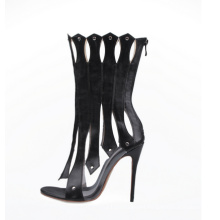 2016 Fashion High Heel Ladies Peep Sandals (HS17-075)