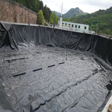 Hdpe Geomembrane Fish Pond Liner بطانة