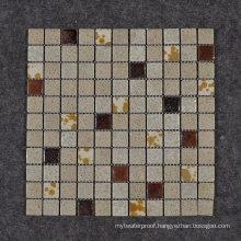 Suitable for Bathroom Exquisite Style Glazed Ceramic Mosaic Tile