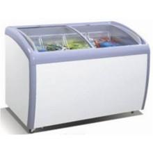 Commercial Customized double sliding door beverage cooler