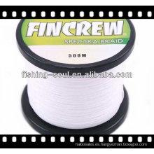 Líneas de pesca de alambre trenzado de colores BRLN001