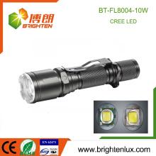 Chine Wholesale Aluminium Pocket Size Mult-function Rechargeable 18650 Batterie Cree XML T6 Puissante Tactical cree led lanterne
