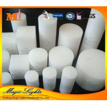 Wholesale White Pillar Household Art Candle