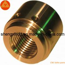 Латунный токарный станок CNC подвергая механической обработке подвергал части механической обработке (SX178)