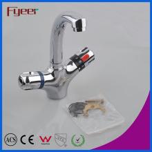 Fyeer Torneira termostática do banheiro da torneira da água da bacia da alta qualidade