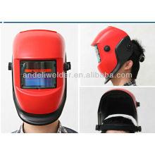 Auto darkening welding helmet en379 for mma tig mig welding