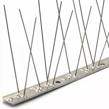 Single anti-bird spines all stainless steel 304 bird spikes eaves with 50CM scare bird spines