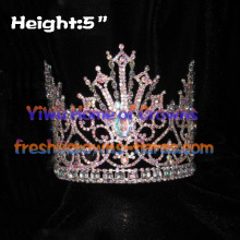 Unique Pageant Crowns With AB Clear Diamond