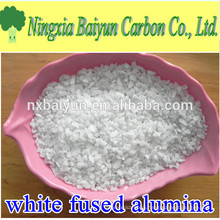 36 mesh electrically fused high purity white corundum grit