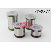 Stainless Steel Food Storage (FT-3877)