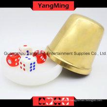 Macau Baccarat Acrylic Dealer Button Plate (YM-DI01)