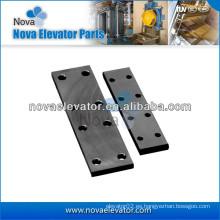 Placa de unión del elevador para el carril guía