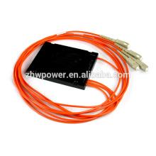 FBT multimodo Fibra Optical splitter com conector sc upc