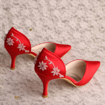 Red+Shoes+for+Wedding+Guest+Women