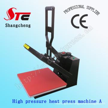 Alta presión barato directo a la ropa impresora máquina Digital alta presión calor transferencia máquina Stc-SD05
