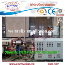 PP PE recycled material plastic pipe production line