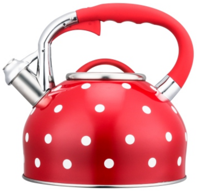 3.0L Stainless Steel color painting whistling Teakettle