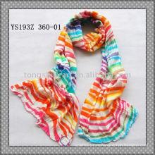 Жатая вискоза шарфы/печатных шарфы