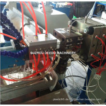 Doppelter Farben-LED Lampenschirm-Plastik, der Maschinerie produziert