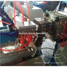 Extrusion en plastique d'ombre de lampe de LED de couleur double produisant des machines