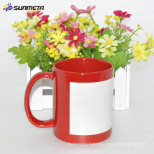 11oz red luminous coffee mug