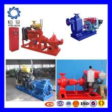 Ensemble de pompe à eau à moteur diesel portable de la meilleure marque