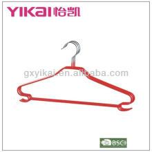 2013 Novo estilo PVC revestido metal hanger camisa