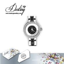 Destino joias cristal de Swarovski Crystal Watch