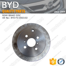 ORIGINAL BYD F3 Parts REAR BRAKE DISC BYD-F3-3502102