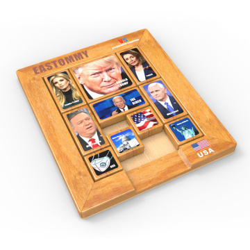 Child Intelligence Jigsaw juego de carrera presidencial