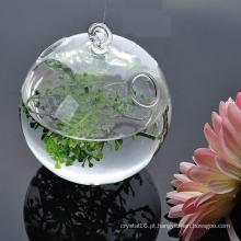 Vasos de vidro da decoração Home da venda quente
