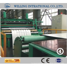 Steel slitting line machine unbelievable low price made in ZheJiang China