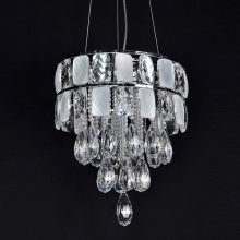 crystal lamp pendant metal modern light fixtures chandelier
