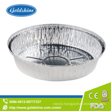"9"" Disposable Round Aluminum Foil Pie Pans"