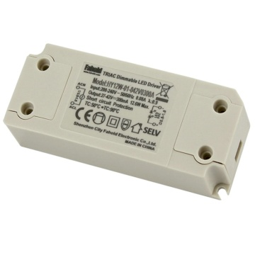 12W Triac Dimmable Driver LED