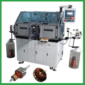 Automatic Armature Rotor Coil Winding Machine