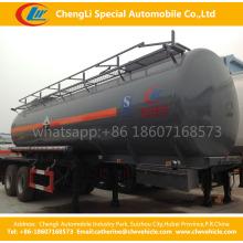 0Double Tri-Eixos Ácido Sulfúrico Diesel Gasolina Petróleo Petróleo Tanque Tanque Semi-reboque
