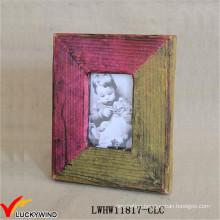 Colors Matching Design Handmade Wood Good Photo Frame