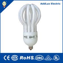 CE 110-240V 9W - ampoule fluorescente compacte de fleur de lotus de 105W
