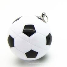 PVC Sport Football USB Pendrive para productos promocionales