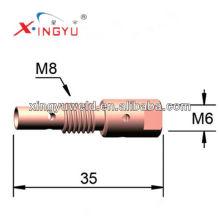 Kupfer-Kontaktspitzenhalter zum Verkauf (Binzel 25ak) / Schweißbrennerteile