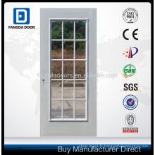 Porte en acier inoxydable de 8 pi à large ouverture de 15 cm