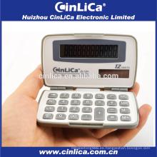 JS-12H calculadora de tamaño pequeño de 12 dígitos, calculadora de bolsillo más barata promocional