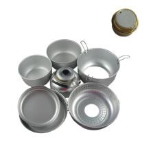 Cookset Mess Kit Camping Cookware