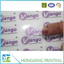 Custom Design Cheap Transparent PVC Sticker