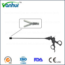 3mm Laparoscopic Instruments Grasping Forceps with Distal 1+2 Claws